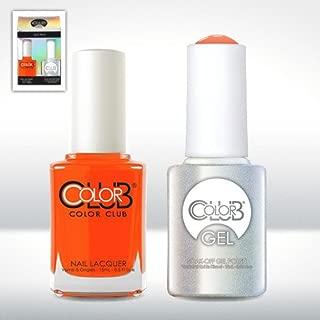 Color Club Gel WHAM! POW! Neon Color Club Gel + Lacquer Duo