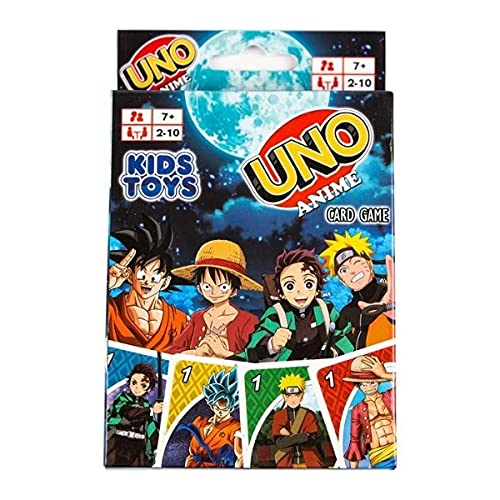 Kids Toys UNO Anime Card Game