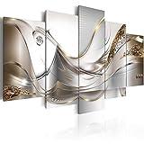 murando - Cuadro en Lienzo Orquidea 200x100 cm Impresión de 5 Piezas Material Tejido no Tejido Impresión Artística Imagen Gráfica Decoracion de Pared Naturaleza Abstracto Flores a-A-0004-b-o