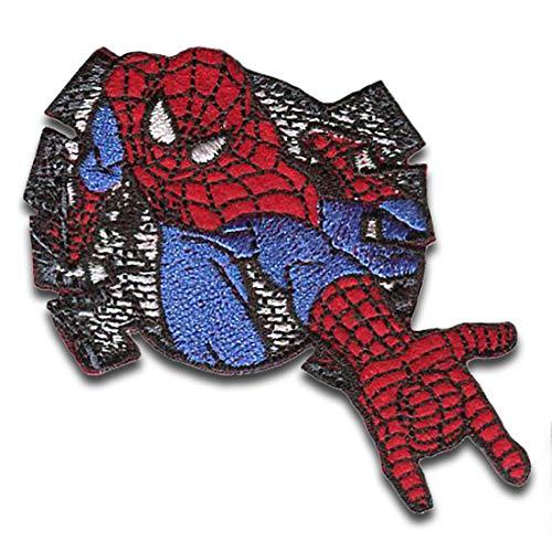 Marvel © Spiderman Comic telaraña - Parches termoadhesivos