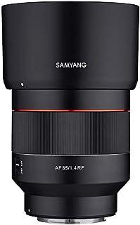 SAMYANG 単焦点中望遠レンズ AF 85mm F1.4 キヤノンRFマウント フルサイズ対応 【国内正規品】