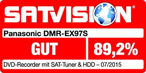 Panasonic DMR-EX97SEGK DVD-Rekorder (mit 500 GB Festplatte, für DVB-S, HDTV-Empfang, CI+ Slot, USB 2.0, HDMI, VIERA Link, Timeshift) schwarz