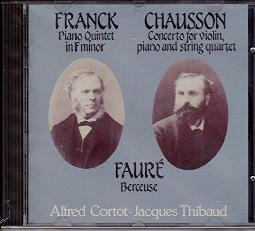 Franck/Chausson/Faure