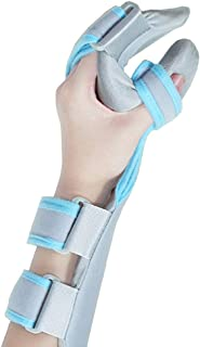Medical Functional Resting Orthosis Hand Wrist Splint for Tendinitis, Inflammation, Carpal Tunnel, Tendonitis, Splint for Wrist and Forearm Support and Alignment (Left)