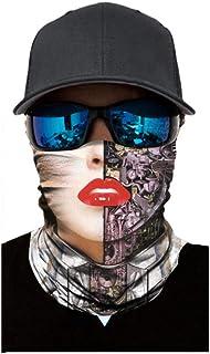 Tomatoa Damen//Herren Bandana Multifunktionstuch 3D Bedrucktes Halstuch D/ünner Schlauch Atmungsaktiv Stirnband Face Shield Schlauchtuch