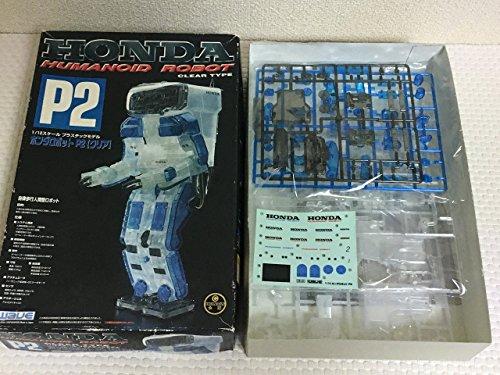 Scale robot 1/12 Honda humanoid robot P2 clear version SR02 (japan import)