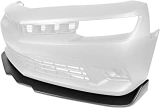 IKON MOTORSPORTS Front Bumper Lip Compatible With 2014-2015 Chevy Camaro SS | Ikon Style Unpainted PP Air Dam Chin Splitter Spoiler Lip