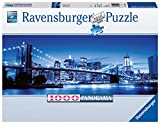 Ravensburger Puzzle 15050 - Leuchtendes New York - 1000 Teile Puzzle für Erwachsene und Kinder ab 14 Jahren, Puzzle von New York im Panorama-Format -