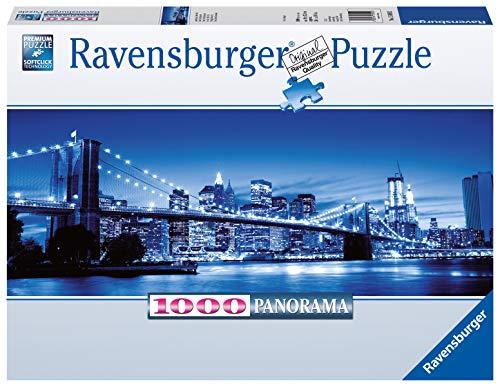 Ravensburger Puzzle 15050 - Leuchtendes New York - 1000 Teile Puzzle für Erwachsene und Kinder ab 14 Jahren, Puzzle von New York im Panorama-Format