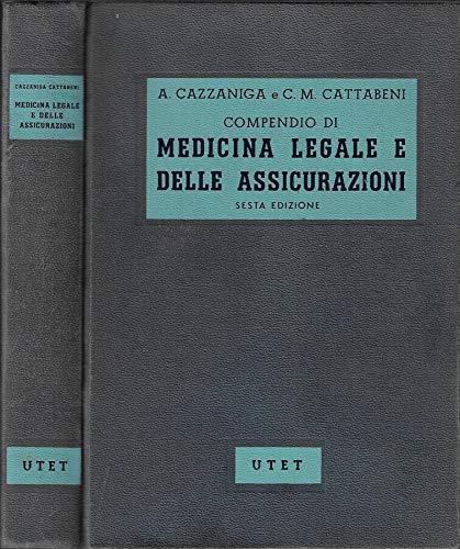 Compendio di medicina legale delle assicurazioni.