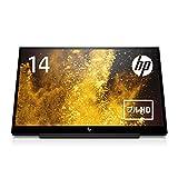 HP モニター 27インチ ディスプレイ QHD 解像度2560×1440 非光沢PLSパネル 高視野角 超薄型 省スペース HP Pavilion 27q (型番:1HR73AA#ABJ)