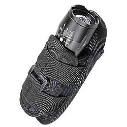 top rated LIVANS Tactical Flashlight Case, Holster, Rotating Torch Holder, Belt Clip Tactical Flashlight … 2021