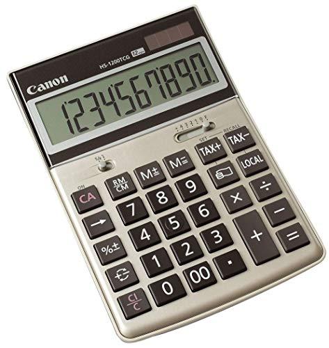 Canon HS-1200TCG Umwelt Taschenrechner 12 Stellen Dezimalstellenauswahl automatisch Energieabschaltung