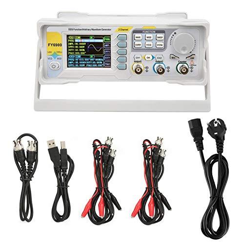 Pantalla LCD Generador de señales digitales Generador de señales de alta resolución para la industria para observar para medir(European standard 220V, pink)