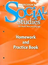Harcourt Social Studies: Homework and Practice Book Student Edition Grade K