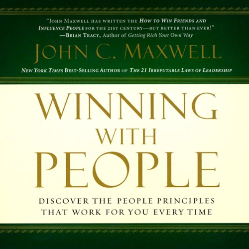 Winning With People audiobook cover art