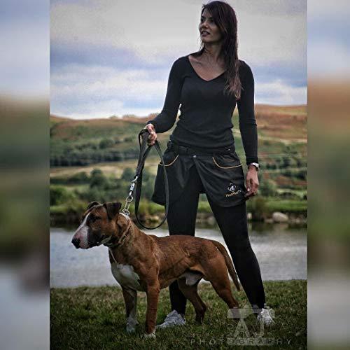 MuzMuzTV Hunde-Trainingsrock schwarz