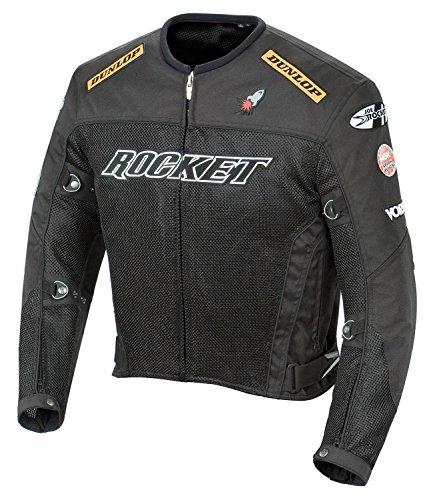 Joe Rocket Men's UFO 2.0 Mesh Motorcycle Jacket (Red)