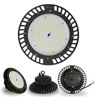 Anten 150W UFO LED High Bay Lighting 22500 Lumen,Ultra Efficient 150 LM/W,IP65 Waterproof Dustproof 100-277V,Warehouse LED Lights-High Bay LED Lights