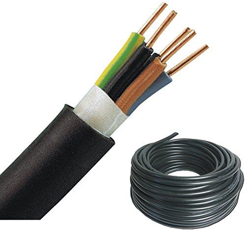 NYY-J Erdkabel 5x1,5qmm 25m Ring Starkstromkabel mit Schutzleiter
