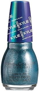 SinfulColors Kylie Jenner Denim & Bling Collection Nail Polish, Kargo (Navy Blue Metallic) 0.5 oz/15ml