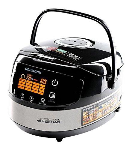 Multiküche REDMOND RMK-M911E (englisch) 5 L mit Frittierpfanne Multicooker Alleskocher