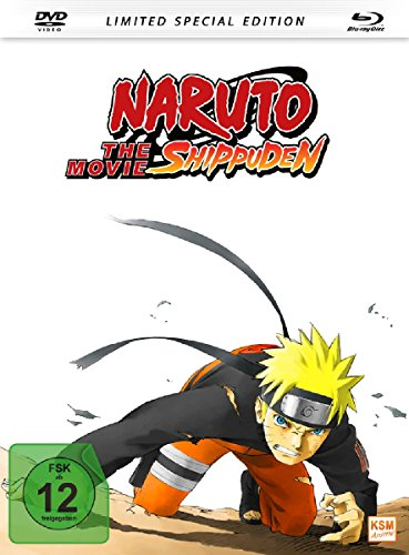 Naruto Shippuden - The Movie (Limited Special Edition im Mediabook inkl. DVD + Blu-ray)