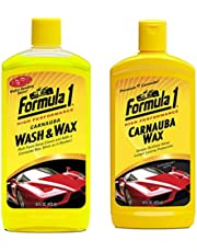 Formula 1 615016 Carnauba Wash and Wax Shampoo (473 ml)
