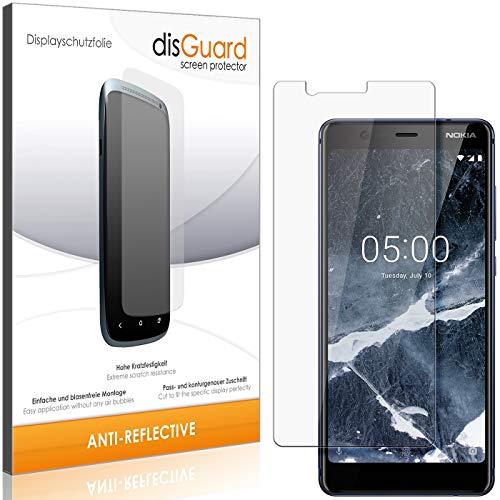 disGuard Panzerglas-Folie für Nokia 5.1 [2 Stück] Bildschirm-Schutzfolie, extrem Kratzfest, Anti-Reflex, MATT, Reflektionsmindernd