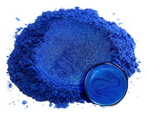 """Mica Powder Pigment """"Pacific Blue"""" (50g) Multipurpose DIY Arts and Crafts Additive 