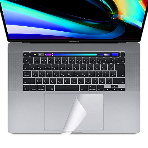 NUPO MacBook Pro 16 Zoll Trackpad Protective Film Touchpad Film Scratch-Proof Scratch-Resistant Transparent Protective Film for MacBook Pro 16 inch 2019