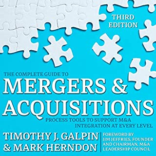Page de couverture de The Complete Guide to Mergers and Acquisitions