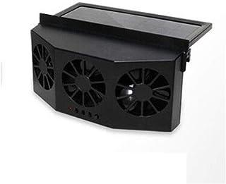 Solar Powered Car Window Cool Fan, Automobiles Windshield Cool Cooler Air Vent Ventilator Mini Air Conditioner Cooler Summ...