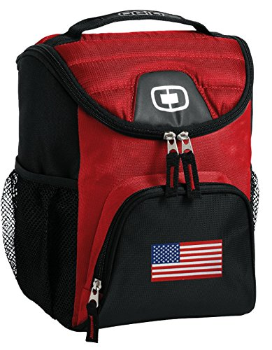 American Flag Lunch Bag Insulated Soft Cooler USA Flag Best Size Lunchbox