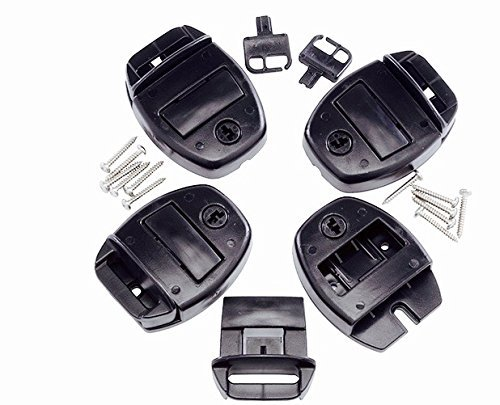 Sundance Spa Hot Tub Cover Locks with Push Button Release - Set of 4