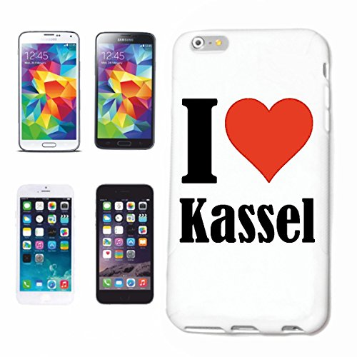 Reifen-Markt Handyhülle kompatibel für iPhone 5C I Love Kassel Hardcase Schutzhülle Handy Cover Smart Cover