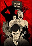 LIWENHAO Hochwertiges Leinwand Poster Hitchcock Film Psycho