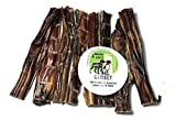 Sancho & Lola's Steer Sticks for Dogs Made in USA - Farmed in USA Odor-Free Beef Pizzle Dental Chews for Light Chewers, Great Alternative to Rawhide … (Crunchy - 6in - 8oz (11-16 Count))
