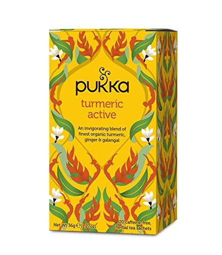 PUKKA Tisane curcuma tonique - 20 sachets Bio -