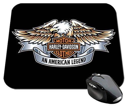 Harley Davidson Eagle Tappetino Per Mouse Mousepad PC