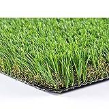 prato sintetico manto erboso erba finta realistica giardino 4 sfumature di colore tappeto erboso sintetico anti uv atossico drenante ideale per piscina terrazzo aree giochi viali (40mm 1x10mt 10mq)