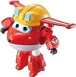 Super Wings EU730011 Transform-a-Bots Build-It Jett - Juego de construcción de Transform-a-Bots