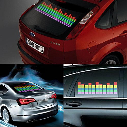 Sound Activated LED Car Lights