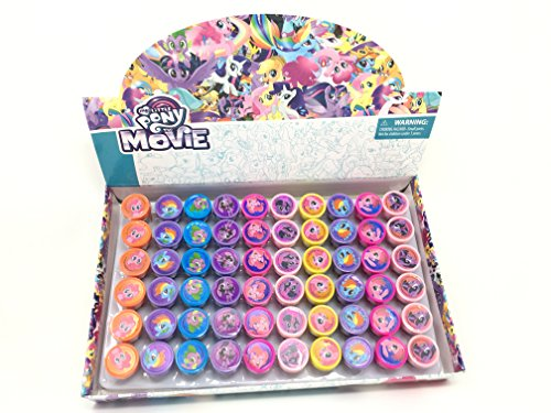 My Little Pony Character Self-Inking Stamps / Stampers Party Favors (60 Counts)