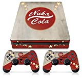 Controller Gear Officially Licensed Console Skin Bundle for PS4 Slim - Fallout - Nuka Cola - PlayStation 4