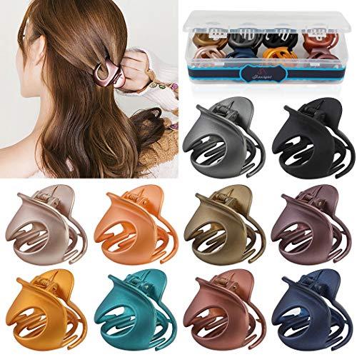 ZOYLINK Haarklauenclips Damen , 10PCS Klaue Clips Haarspangen Damen mit Box Damen Haargreifer