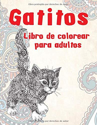 Gatitos - Libro de colorear para adultos
