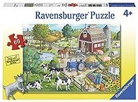 ラベンスバーガー(Ravensburger) のどかな牧場(60ピース) 09640 4