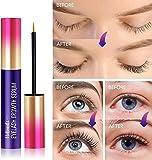 Premium Eyelash Growth Serum and Eyebrow Enhancer by VieBeauti, Lash boost Serum for Longer, Fuller Thicker Lashes & Brows (3ML)