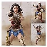 LANMEISM Figura de acción Wonder Woman BJD Joints MOVEED PVC Figura Figura COLECCIONE Modelo DE Juguete (Color : No Box)
